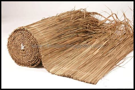 bamboo umbrella with thatch,straw,palm leaf roof   CBG