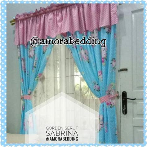 Gorden 200x200 Dan 150x200 By Request gorden murah gorden shabby chic sabrina shabby shopee indonesia