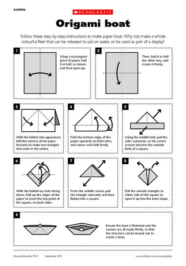 how to make a paper boat out of a4 13 best photos of printable paper boat paper boat