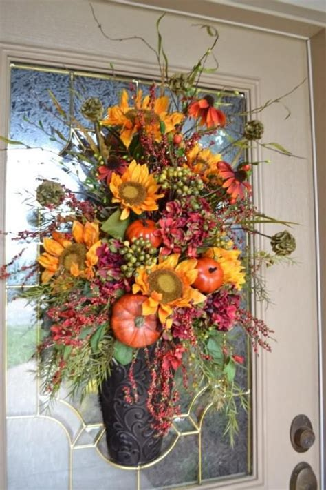 budget fall decorating ideas door ideas fall home tour 18 best fall front door decorations images on pinterest
