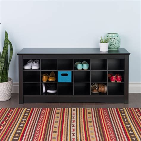 bedroom shoe storage prepac furniture shoe storage cubbie bench lowe s canada