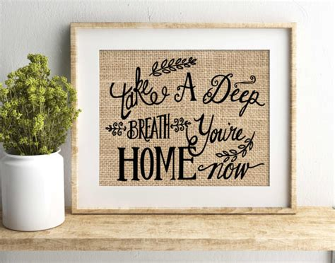 housewarming gifts for first home housewarming gift house warming gift take a deep breath
