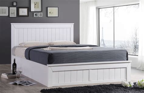 4ft Ottoman Storage Beds Sweet Dreams Chandler 4ft Small Storage Ottoman Bed White Ebay