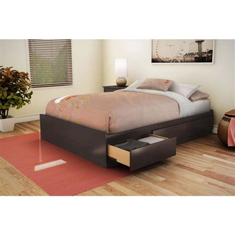 Size Storage Bed by South Shore Step One 3 Drawer Size Storage Bed In
