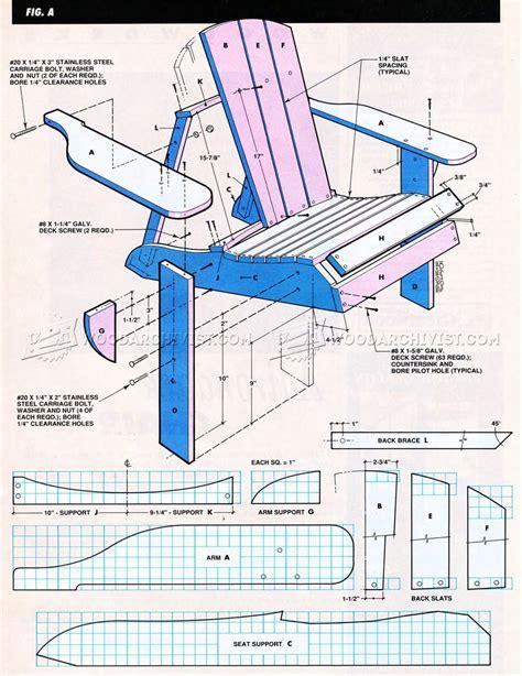 adirondack swing plans classic adirondack chair plans woodarchivist