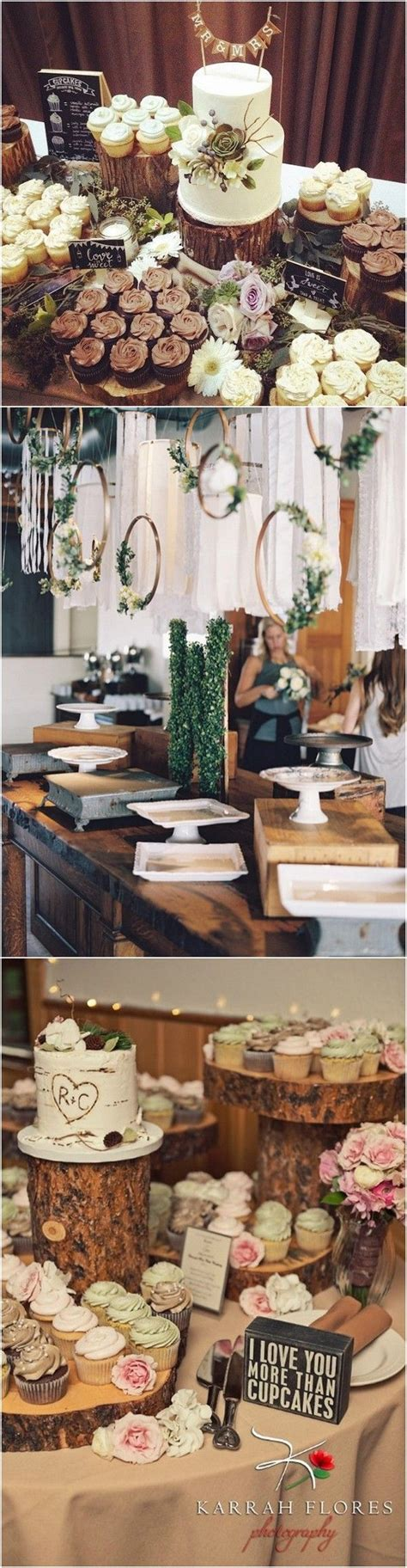 Best 25  Rustic dessert tables ideas on Pinterest   Rustic