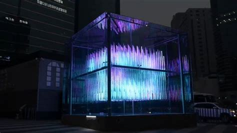 Brilliant Cube Is A Kinetic 3d Matrix Comprised Of 576 Arduino Led Light