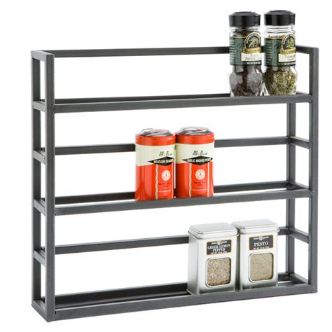 Design Your Own Garage Online iron spice rack the container store