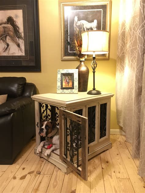 kennel side table custom kennel solid wood end table side table