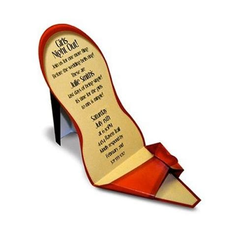 high heel shoe invitation template 50 best images about paper shoes on elin