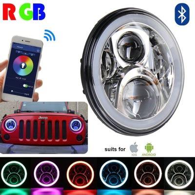 7 inch 60w chrome led headlight for jeep wrangler hi/lo
