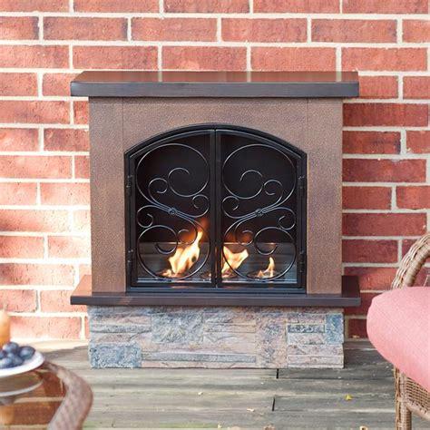 indoor l fuel boulder portable indoor outdoor gel fuel fireplace on
