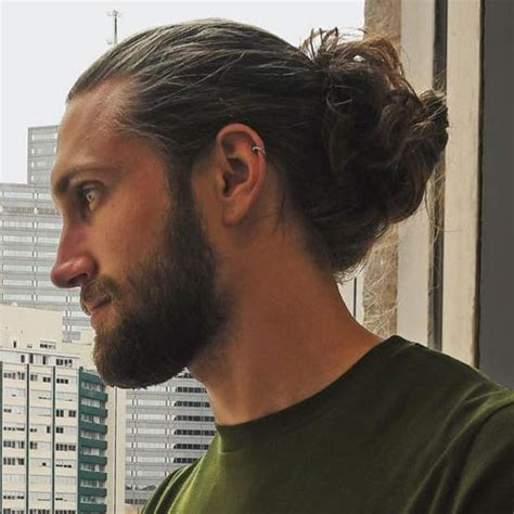 short hairstyles with full beard cool short hairstyles and beards for men 2018