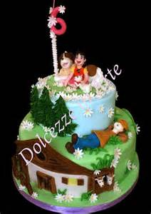 torta heidi torte di compleanno di cake design