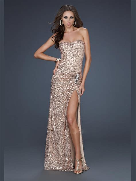 sequin prom dresses dressed up