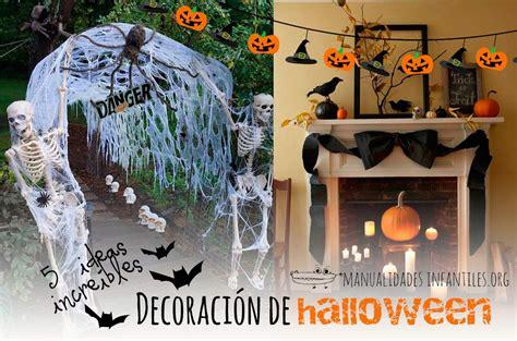 decoraciones de halloween 5 ideas incre 237 bles para la decoraci 243 n de halloween
