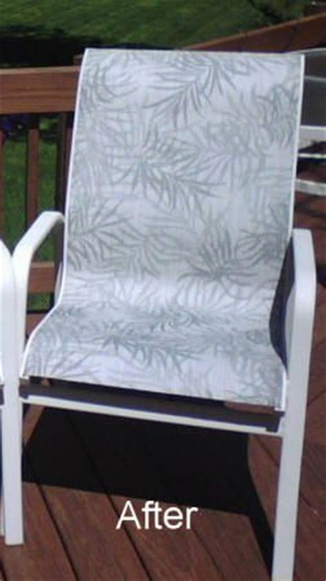 patio sling fabric replacement fl 016 green bamboo leaf