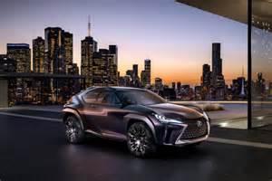 futuristic lexus ux concept debuts at motor show