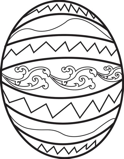 coloring egg ideas free printable easter egg coloring page for