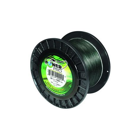 Power Profesional power pro 65lb 500yds braided spectra fishing line moss green
