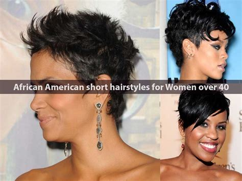hair styles for african american women over 40 15 dainty short and pixie cut hairstyles of celebs page