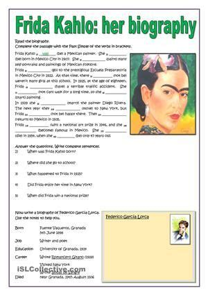 biography activities for elementary students image result for worksheets on biographies for elementary