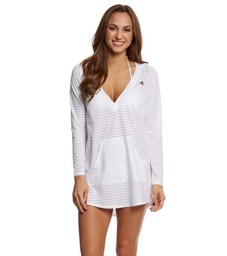Hoodie Adidas Cover adidas s cover up hoodie tunic at swimoutlet