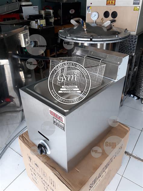 Fryer Gas 6 Liter Goreng Kentang Nugget Sosis Ayam Chicken mesin penggorengan ayam toko mesin gama sakti