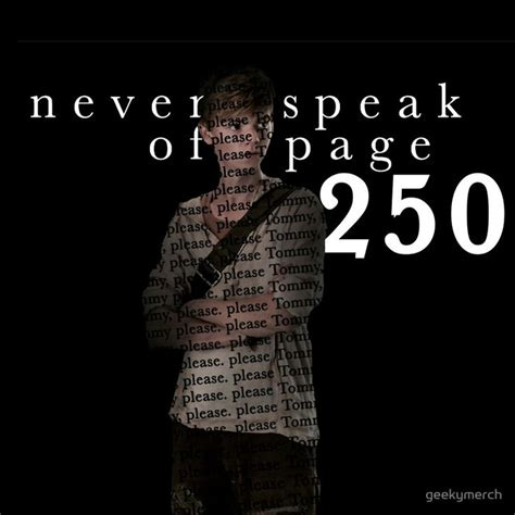 The Maze Runner Quotes With Page Numbers