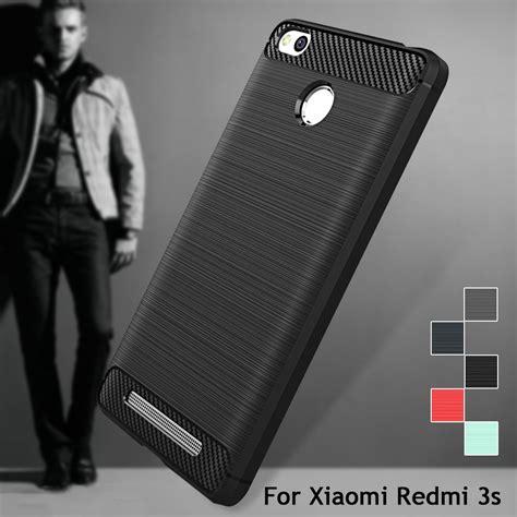 List Chrome Xiaomi Redmi 3 Pro 3s Tpu Soft Sof Berkualitas for xiaomi redmi 3s 3 pro cover carbon fibre brushed tpu smart phone cases for xiaomi redmi