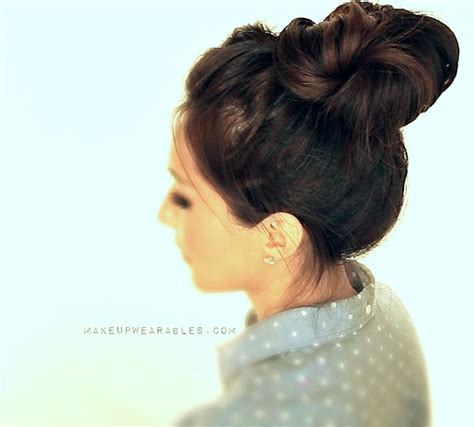 everyday hairstyles for high school 5 minute crown braid messy bun hairstyle cute hair party