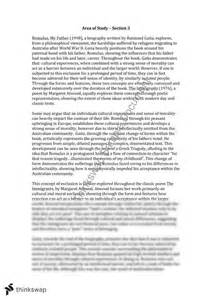 My Essay by Romulus My Essay Year 12 Hsc Standard Thinkswap