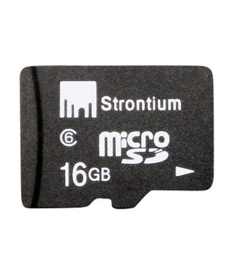 Strontium Micro Sd 16gb strontium 16 gb micro sd card class 6 memory card buy
