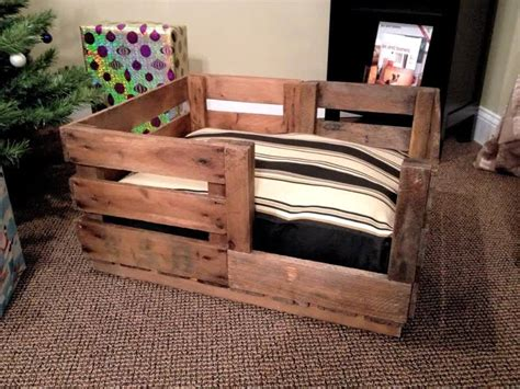 custom dog bed 40 diy pallet dog bed ideas don t know which i love more