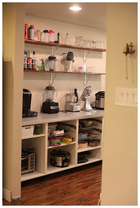 adding open shelving   pantry run  radiance