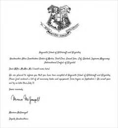 hogwarts acceptance letter 8 documents in pdf word psd