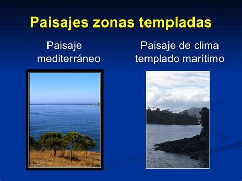 imagenes de paisajes de zonas climaticas zonas clim 225 ticas y paisajes
