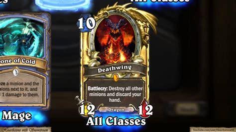 make hearthstone card hearthstone golden legendary card deathwing