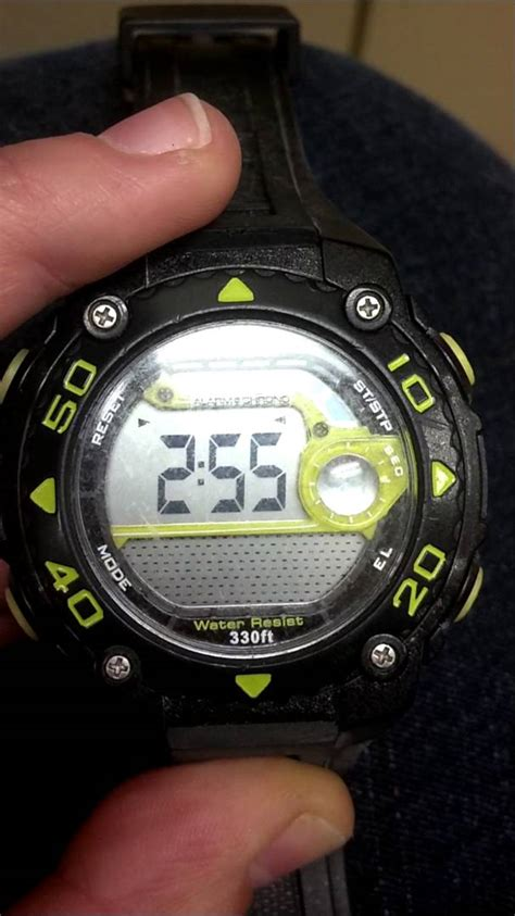 bench sports watch how to set the time on your armitron all sport watch youtube