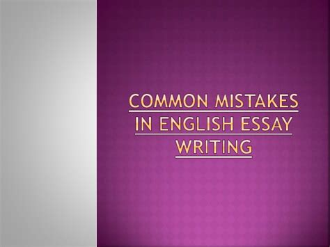 Mistakes In Essays by Most Common Toefl Essay Mistakes Mfacourses887 Web Fc2