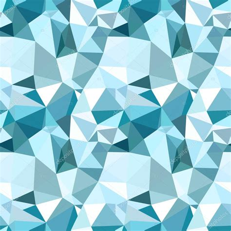 pattern low poly vector vector low poly seamless pattern blue winter polygonal