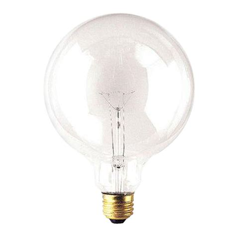 Led Clear Light Bulbs Ge 25w Equivalent Soft White 2700k G16 5 Clear Dimmable Led Light Bulb 68170 The Home Depot