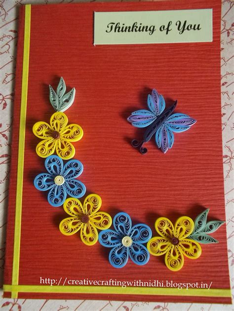 Paper Craft Ideas For Greeting Cards - new paper quilling designs of greeting cards creative