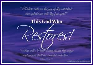 restore out of your past and into god s future books this god who restores in the healing with