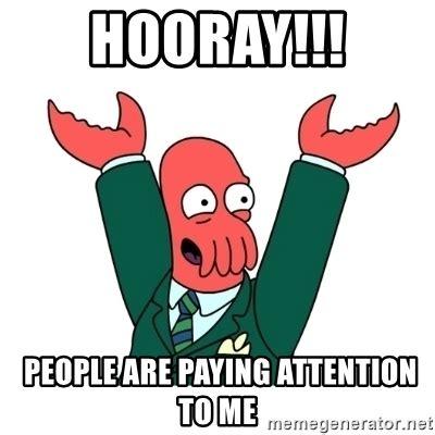 Zoidberg Meme Generator - hooray zoidberg meme generator