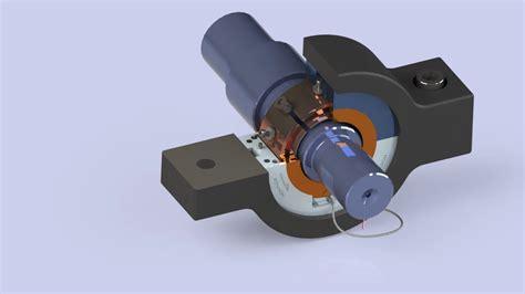 machine design journal bearing tilt pad journal bearing ball and socket solidworks