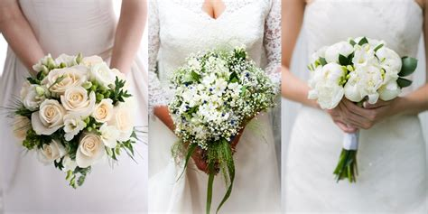 White Wedding Flower Pictures by Wedding Flowers A Guide To Bridal Bouquets Florists