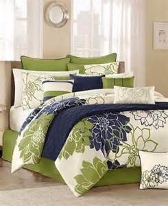 lola blue blue green 12 piece king comforter set ebay