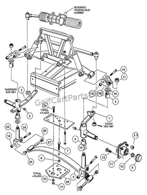 Front Suspension - Lower - Club Car parts & accessories