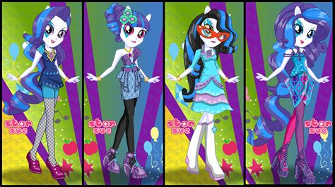 star sue your favorite characters dress up games are here my little pony equestria girls rainbow rocks rarity
